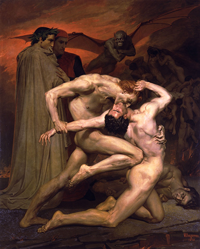 Dante and Virgil in Hell William-Adolphe Bouguereau