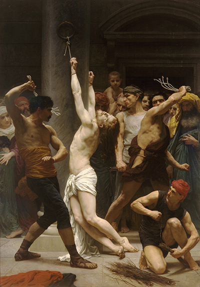The Flagellation of Christ William-Adolphe Bouguereau