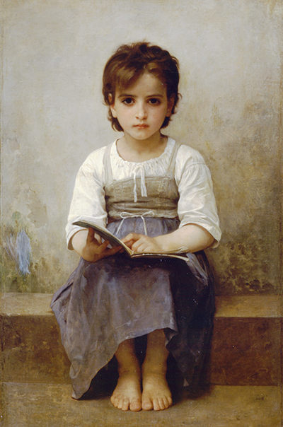 the elder sister by william bouguereau